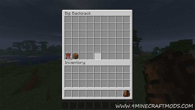 Backpack Mod 9minecraftmods