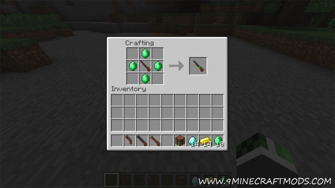 Flintlock guns mod for Minecraft
